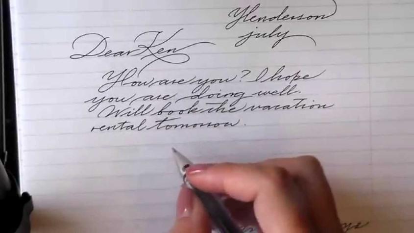 cursive