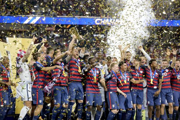 USA VS JAMAICA CONCACAF GOLD CUP FINAL