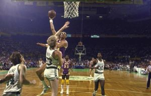 Los Angeles Lakers Kareem Abdul-Jabbar, 1985 NBA Finals