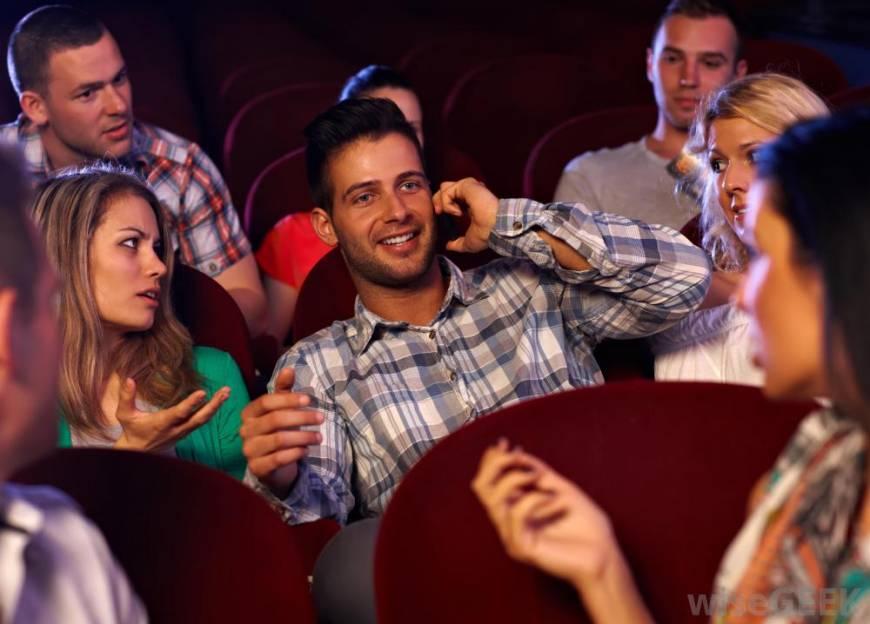theater Adult etiquette