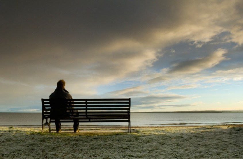 lonely-man-on-bench