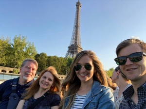 Paris_Family on Seine River
